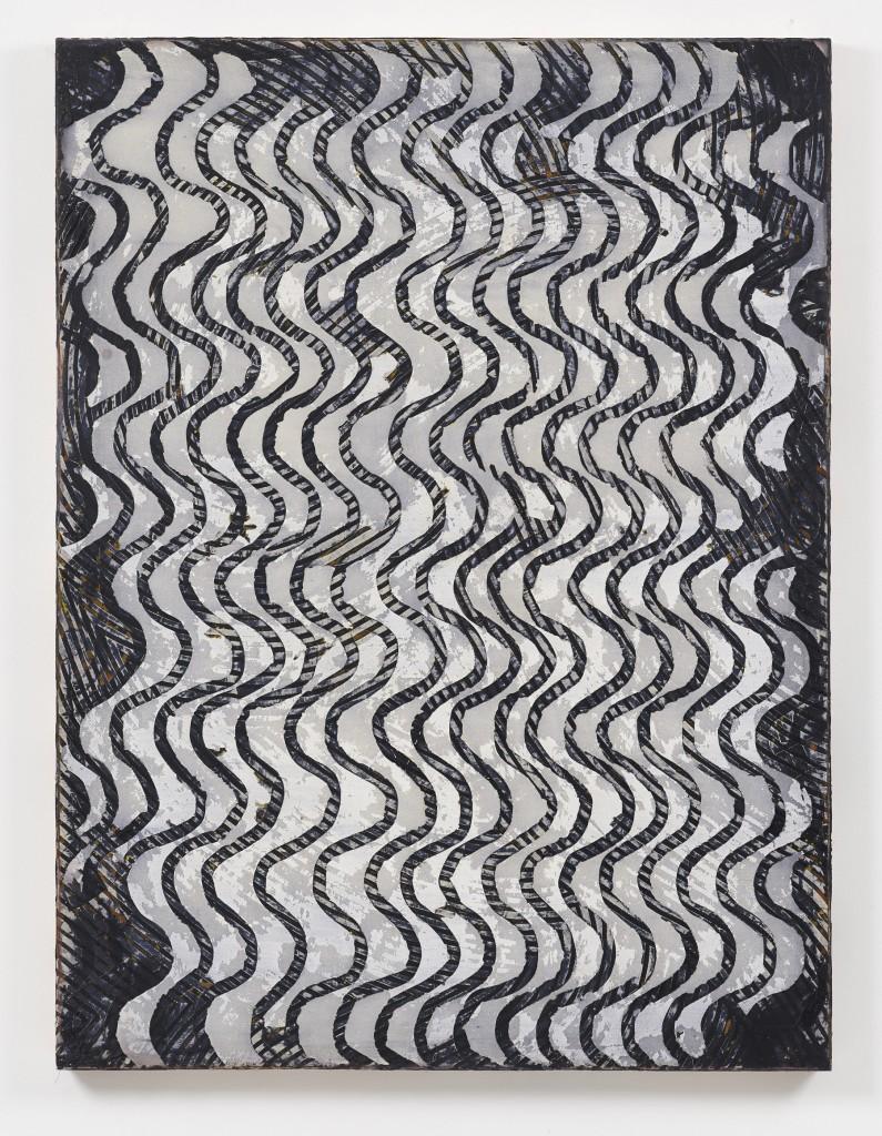 'Haben und Verlieren 2,' 2013. Oil on canvas, 78 3/4 x 59 inches. Images courtesy of: Schwarz Contemporary.