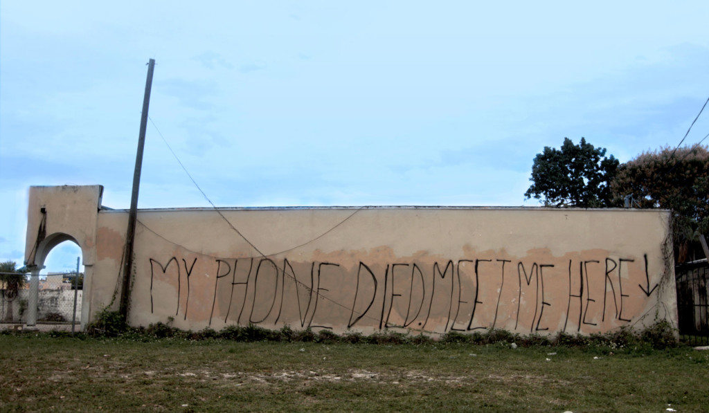 Jillian Mayer_My Phone Died Meet Me Here