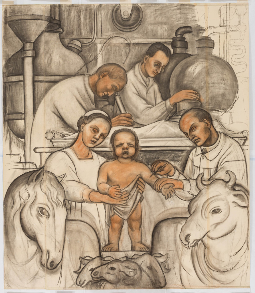 image-272Preparatory Drawing -  Vaccination