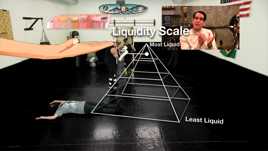 Liquidity, Inc., 2014, HD video with sound, 30 mins