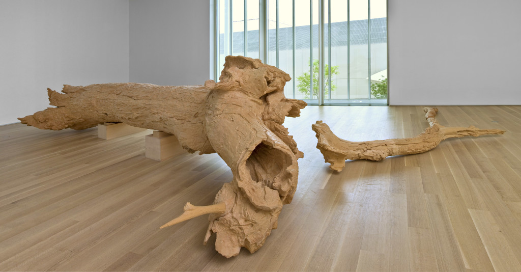 Charles Ray. Hinoki, 2007. The Art Institute of Chicago, through prior gifts of Mary and Leigh Block, Mr. and Mrs. Joel Starrels, Mrs. Gilbert W. Chapman, and Mr. and Mrs. Roy J. Friedman; restricted gift of Donna and Howard Stone. © Charles Ray 2007, Courtesy Regen Projects, Los Angeles.