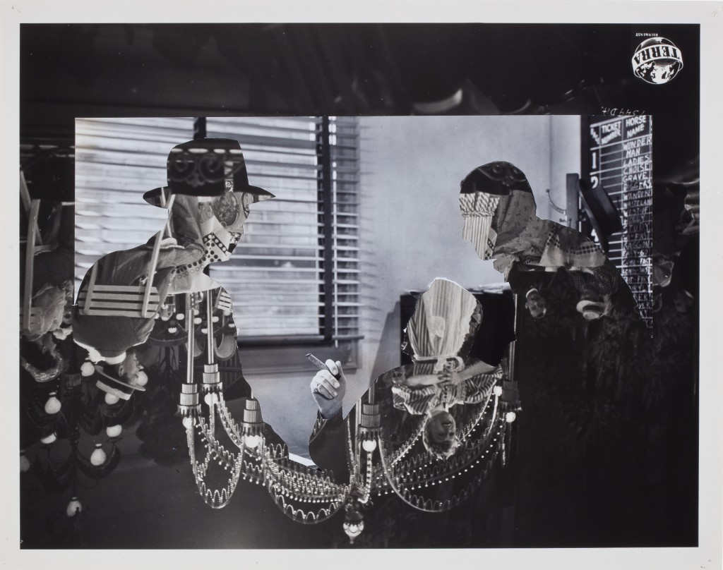 JOHN STEZAKER (b. 1949), Double Shadow XLVI, 2015. Collage, 9 1/4 x 11 3/4 inches (23.5 x 29.8 cm). Courtesy of Richard Gray Gallery, Photo: Michael Tropea.