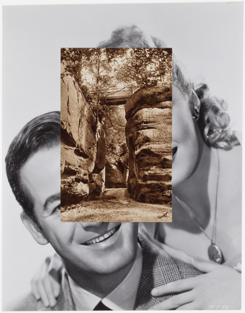 JOHN STEZAKER (b. 1949), Pair XXV, 2014. Collage, 9 1/4 x 7 1/4 inches (23.5 x 18.4 cm). Courtesy of Richard Gray Gallery, Photo: Michael Tropea.
