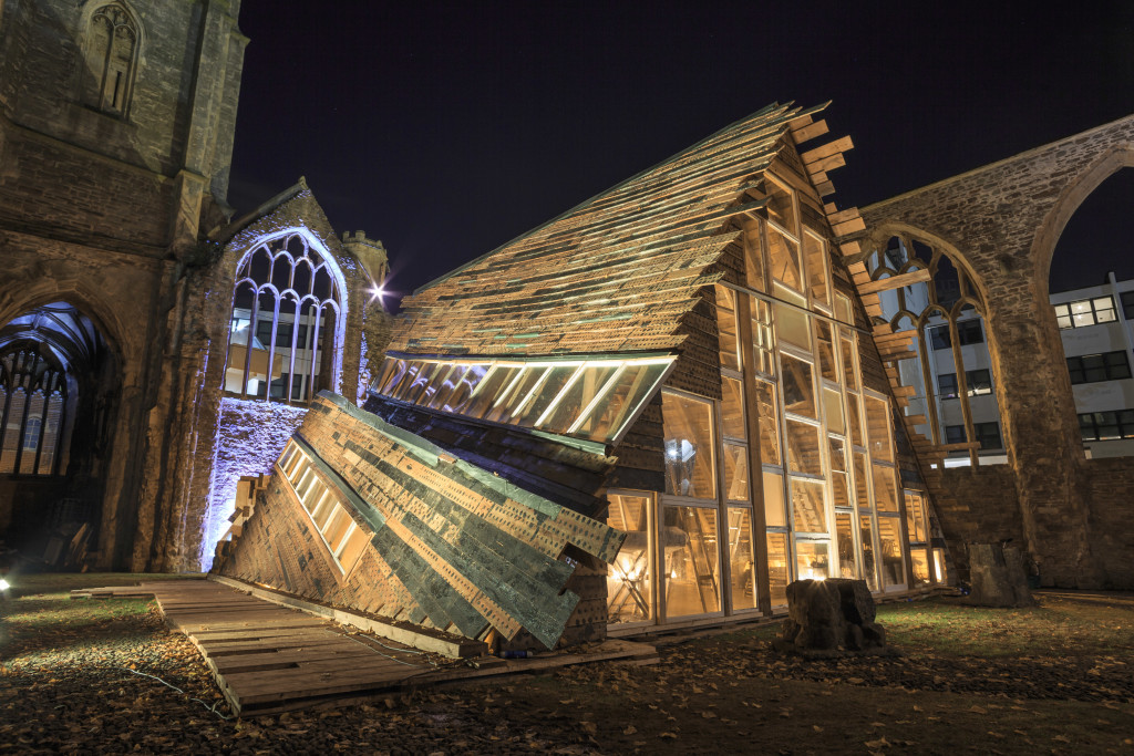 Installation shot, Theaster Gates' Sanctum, photo Max McClure - 2