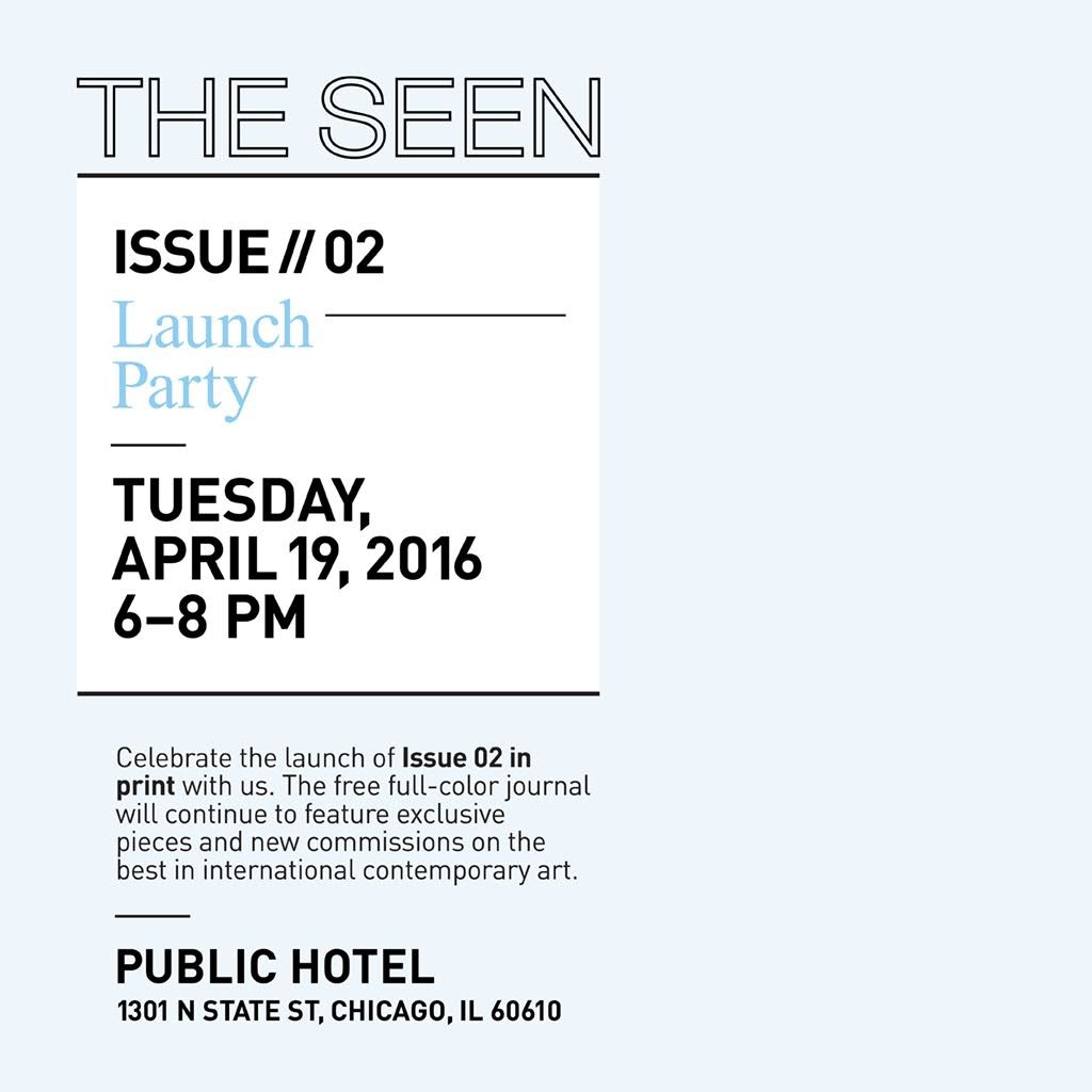 THE SEEN Launch Invitation