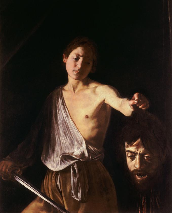 Caravaggio_David con la testa di Golia