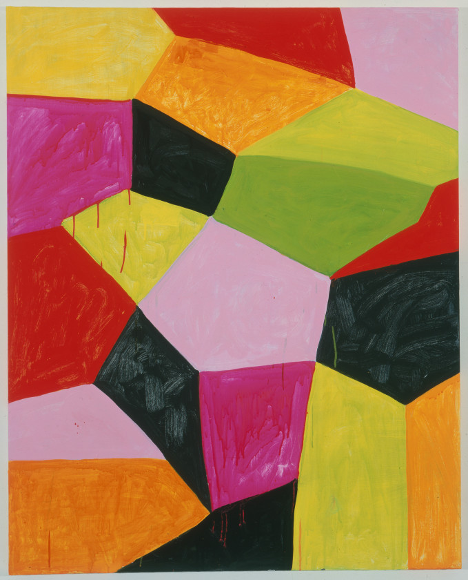 "Mary Heilmann, Primalon Ballroom, 2002. Oil on canvas on wood, 50 x 40"" ©Mary Heilmann. Photo credit: Oren Slor. Courtesy of the artist, 303 Gallery, New York, and Hauser & Wirth"