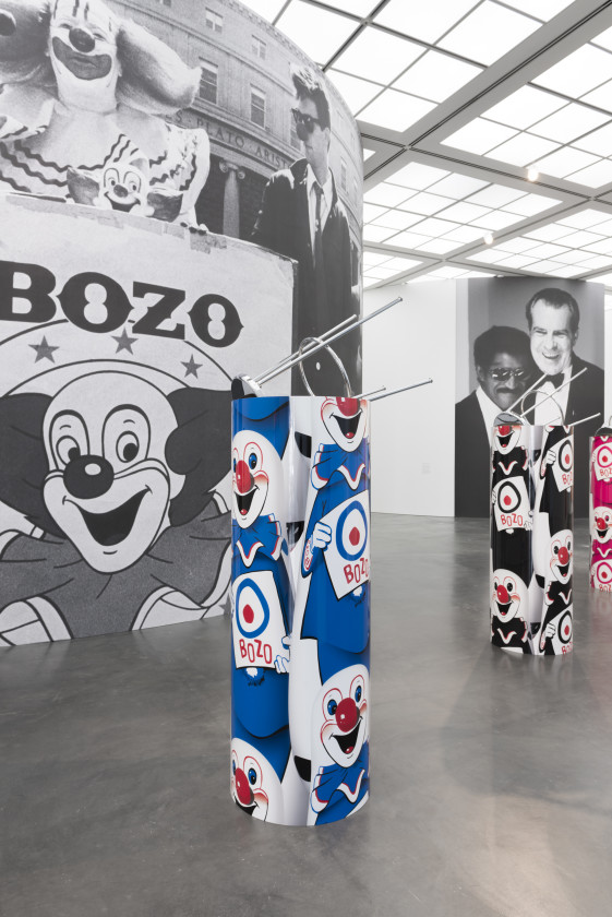 "Kathryn Andrews,""Bozo""™"" The World's Most Famous Clown"", 2014. Courtesy of David Kordansky Gallery, Los Angeles. Photo: Fredrik Nilsen."