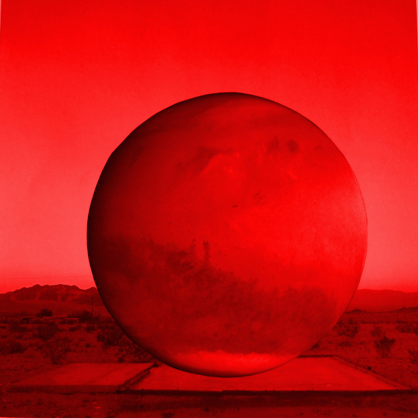 MPA, Mars, 2014-15. THE INTERVIEW: Red, Red Future, Contemporary Arts Museum Houston, Houston, TX, 2016. Courtesy the artist and Contemporary Arts Museum Houston. Photo: Max Fields.