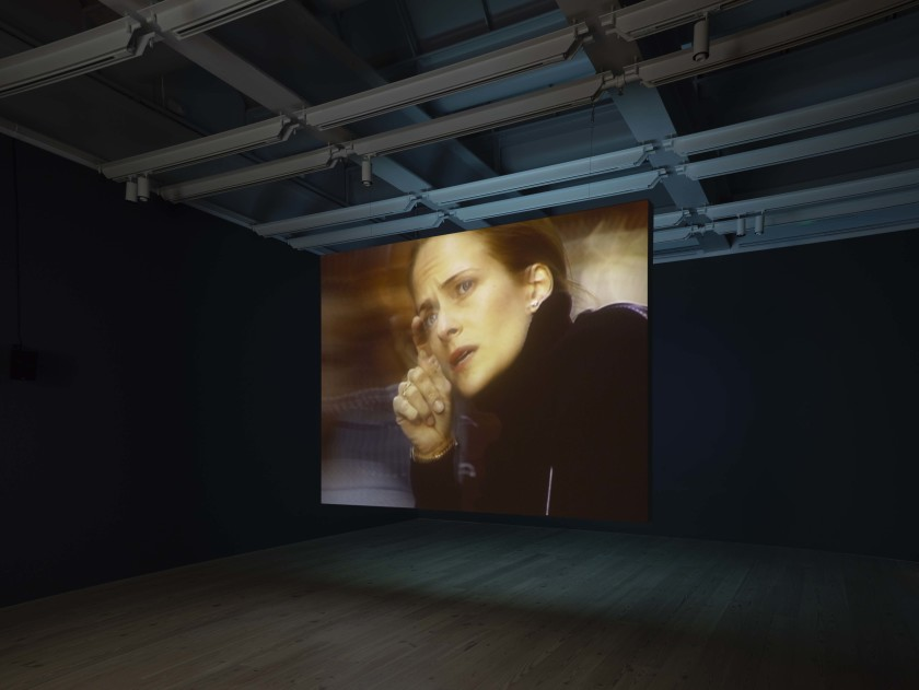 Installation view of Laura Poitras: Astro Noise (Whitney Museum of American Art, New York, February 5—May 1, 2016). Photography by Ronald Amstutz