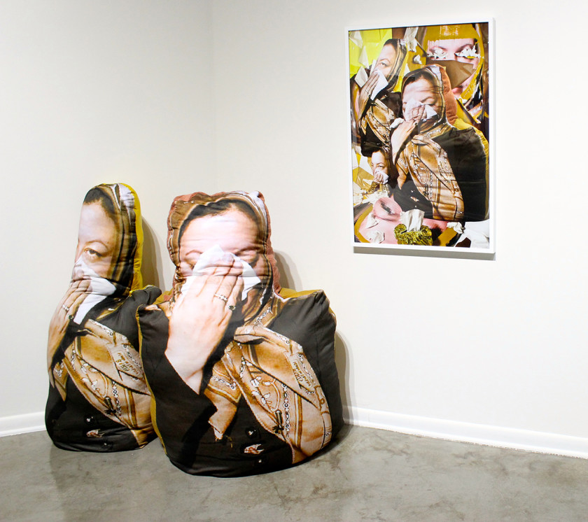 """Sheida"", Center Galleries, College for Creative Studies, Photo: Sarah Sharp"