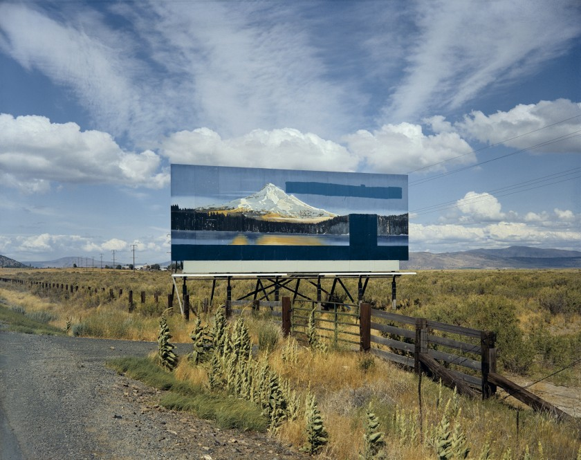 Stephen Shore, U.S. 97, South of Klamath Falls, Oregon, July 21, 1973, printed 2002
