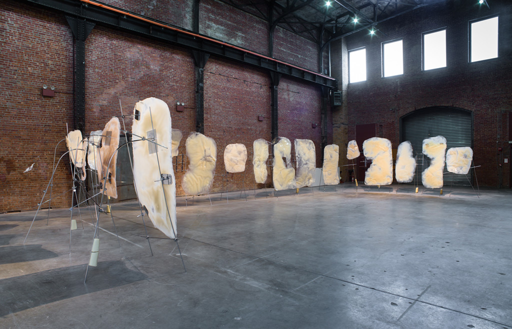 Retainer (2012), installation view SculptureCenter New York, 2012. Courtesy the artist and Marian Goodman Gallery.