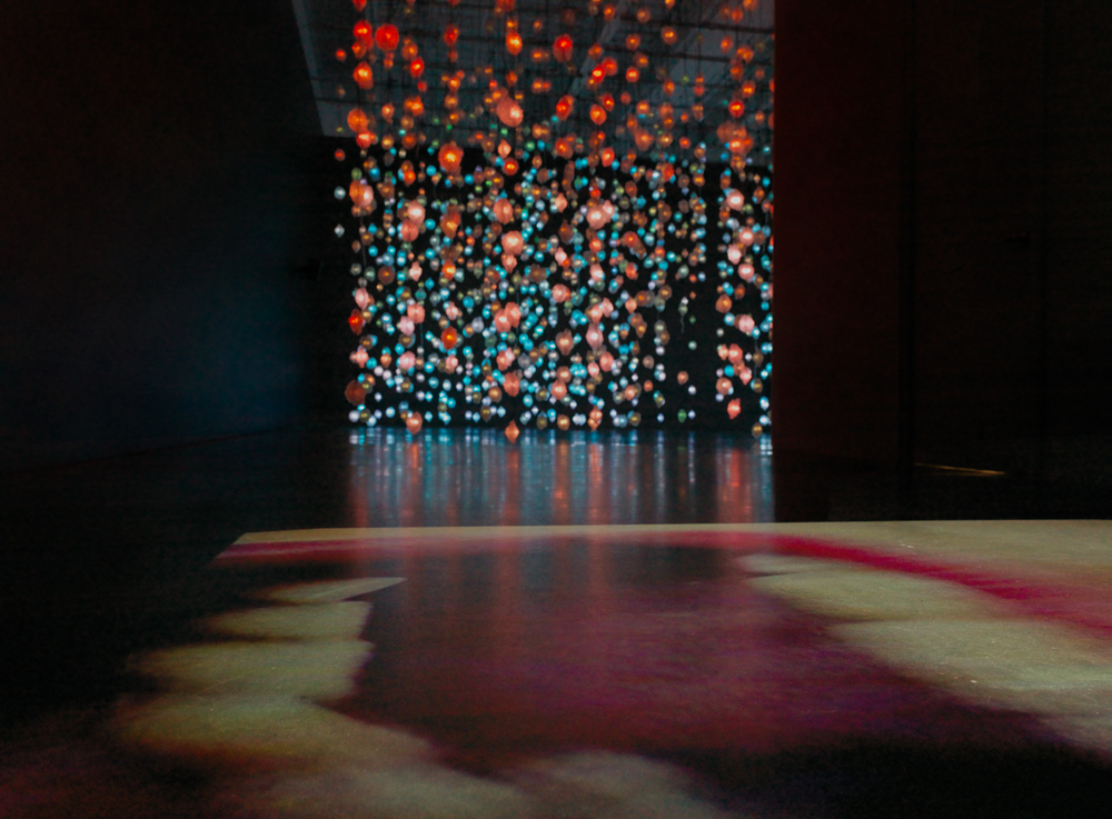 Pipilotti Rist, Mutaflor, 1996. Single-channel video installation, silent, color; 43 sec. Courtesy the artist, Hauser & Wirth, and Luhring Augustine. Installation photo: Maris Hutchinson / EPW Studio, courtesy New Museum.