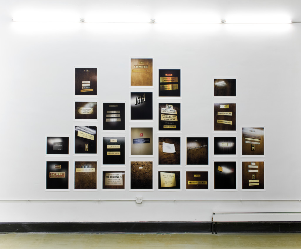 Anna Shteynshleyger, Court 26, selection of 28 inkjet prints out of 140, size varies, 2016, courtesy Phil Peters