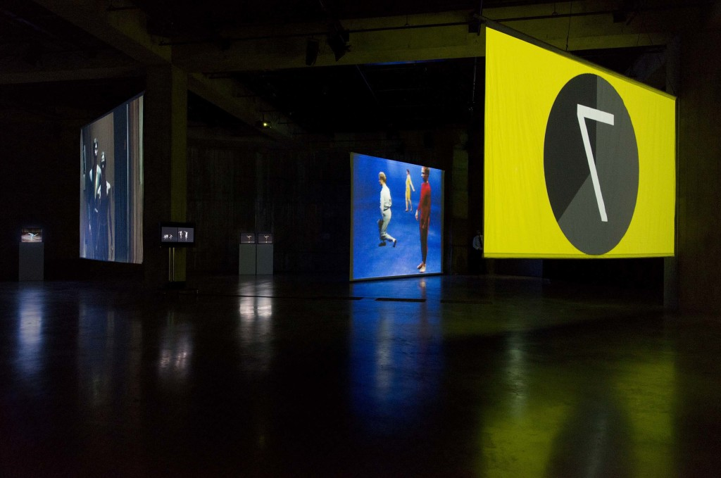 Charles Atlas,MC9, 2012. Installation view, Charles Atlas and Collaborators, BMW Tate Live, The Tanks, Tate Modern, 2013. Edition of 3 and 2 artist's proofs. © Charles Atlas and Tate. Photo: Gabrielle Fonseca Johnson for Tate Photography.