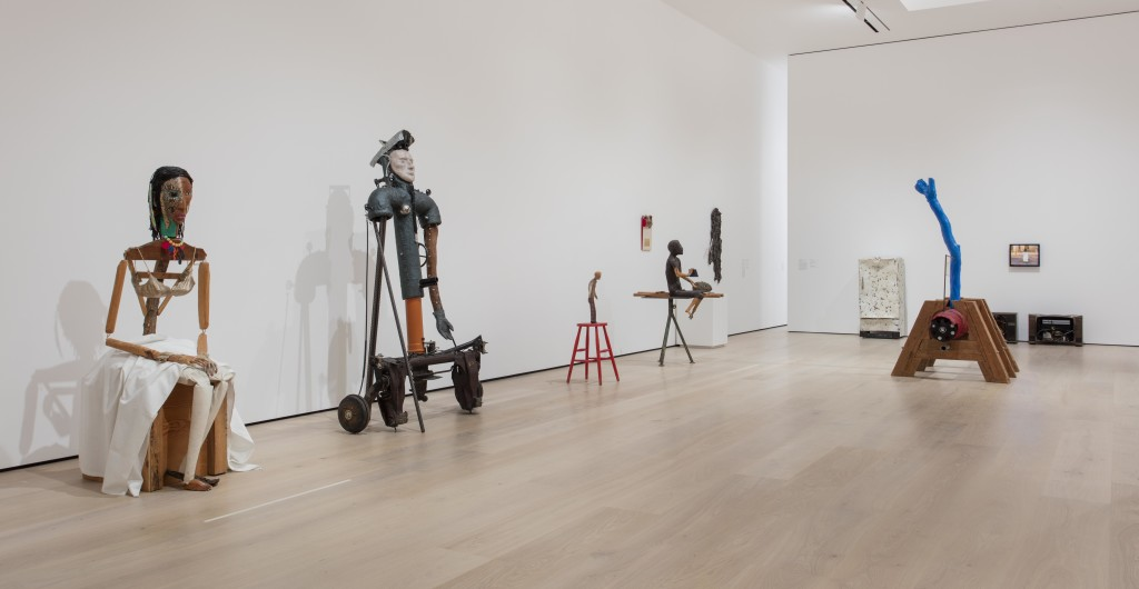 Jimmie Durham: At the Center of the World, Installation view, Hammer Museum, Los Angeles, January 29 – May 7, 2017. Photo: Brian Forrest.