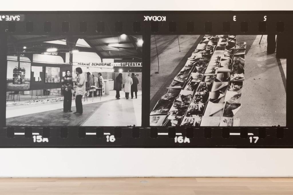 Installation view of Takuma Nakahira:Circulation. Photography courtesy of the Art Institute of Chicago