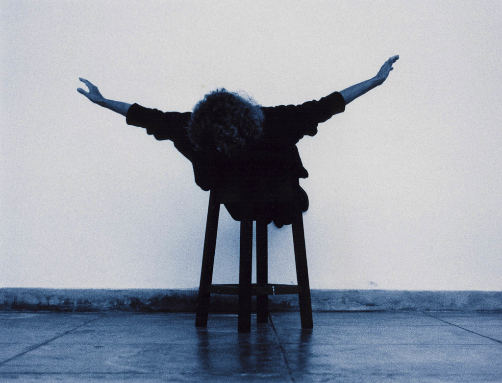 Helena Almeida, Voar (To Fly), 2001. Collection of Pedro and Vasco Couto. © Helena Almeida.