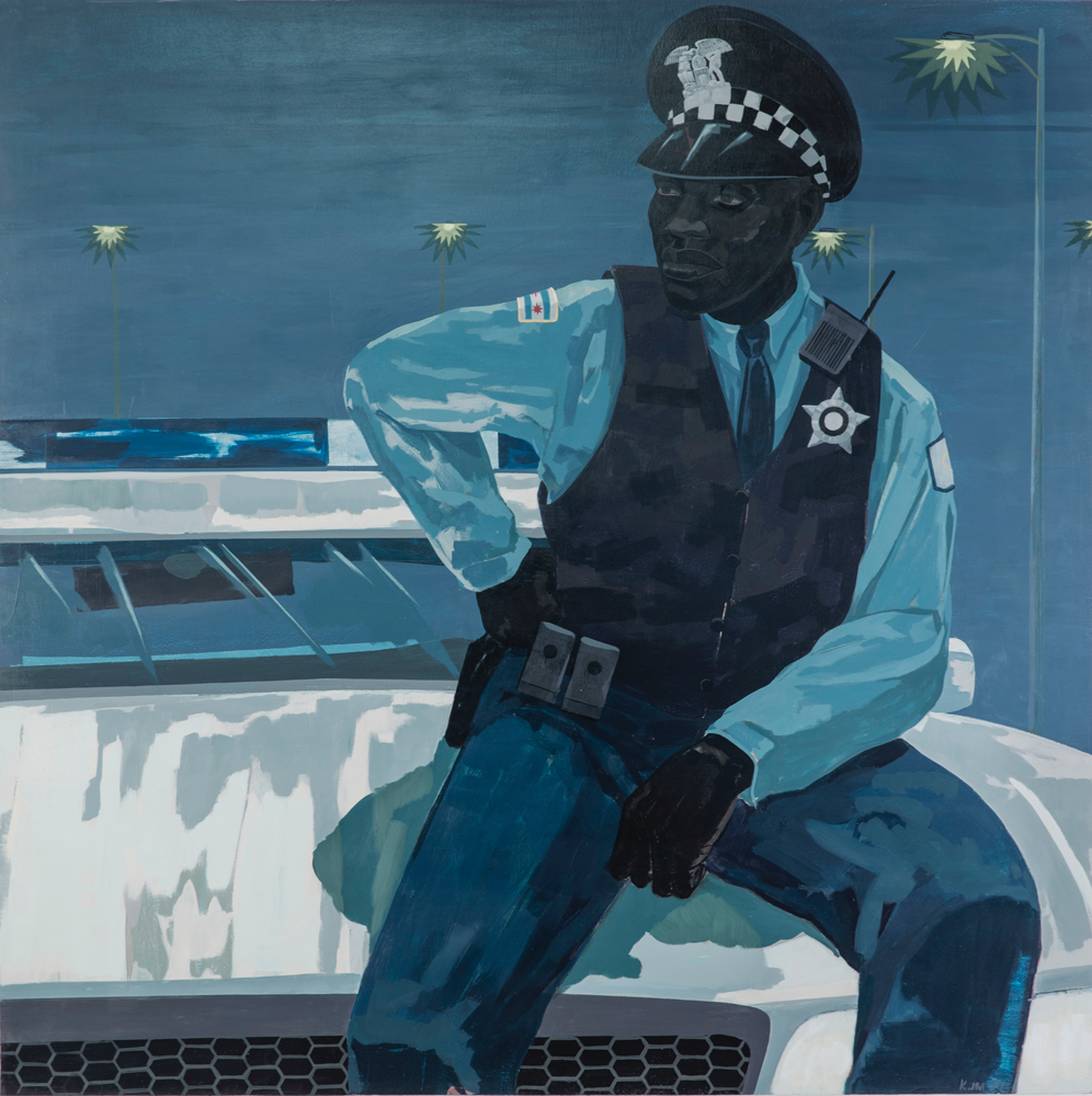 Kerry James Marshall, Untitled (Policeman), 2015. ©Kerry James Marshall.