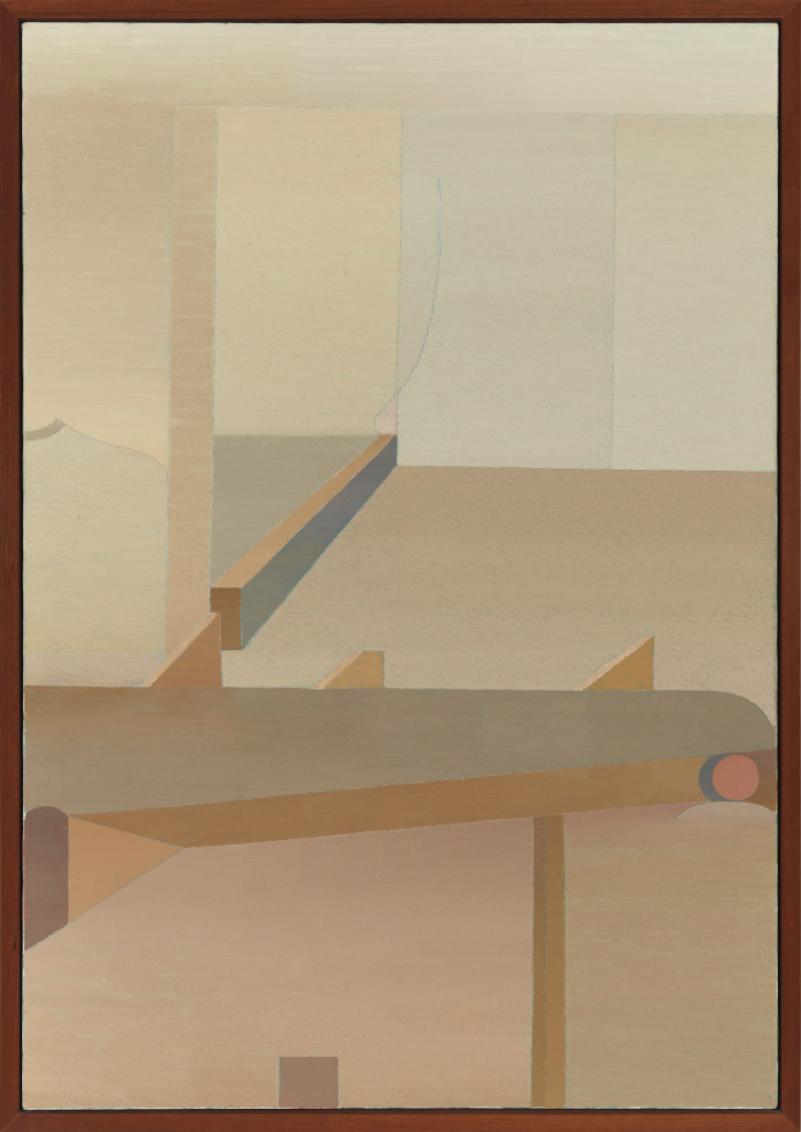 Miyoko Ito: Walls of No Escape, 1980; oil on canvas; 46 x 32 in.; courtesy of John B. Pittman; © The Estate of Miyoko Ito. Photo: Tom Van Eynde. © The Estate of Miyoko Ito