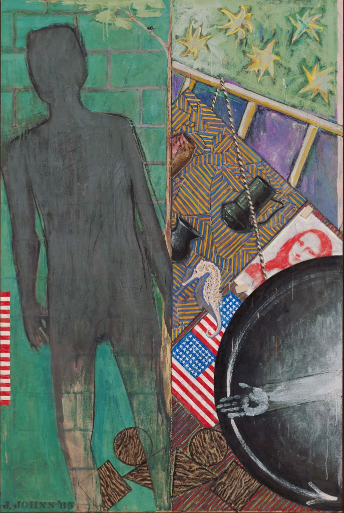 Jasper Johns, Summer, 1985. Encaustic on canvas. 190.5 x 127 cm. Museum of Modern Art, New York © Jasper Johns / VAGA, New York / DACS, London 2017. © 2017. Digital image, The Museum of Modern Art, New York / Scala, Florence