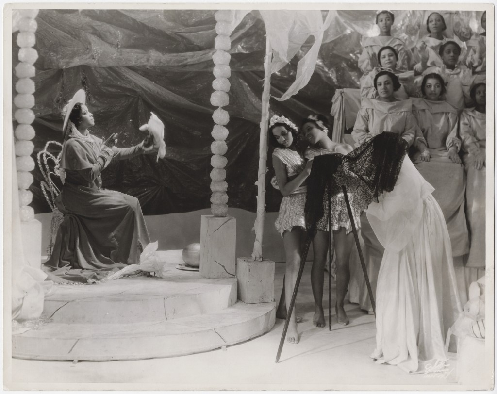 Scene from the theatrical production Four Saints in Three Acts at the Wadsworth Atheneum, Hartford, Connecticut, 1934. Photo by White Studio © Archives/Wadsworth Atheneum Museum of Art